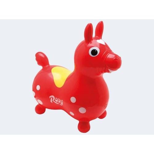 Rody hoppehest rød