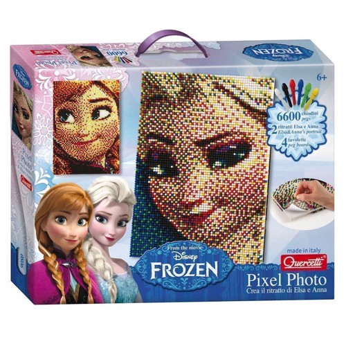 Image of   Disney Frozen Pixel kunst