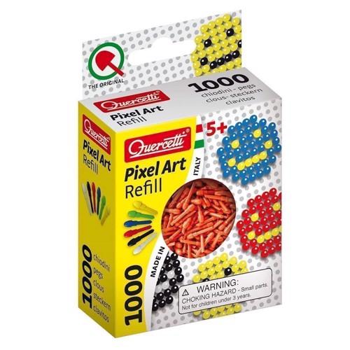 Quercetti Pixel kunst refill pakke med 1000 stk i rød