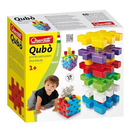 Image of   Quercetti Qubo First Blocks