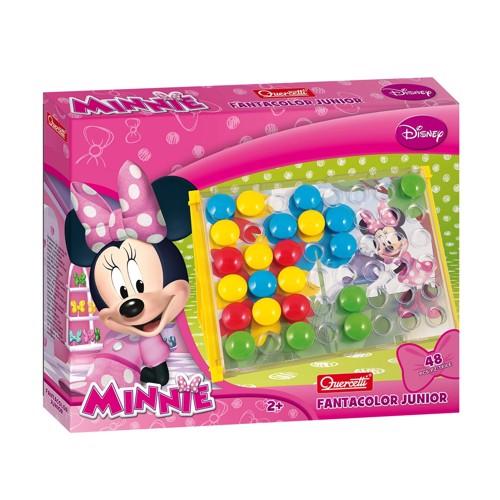 Image of   Quercetti Fanta Color Junior Plug Mosaic Minnie Mouse
