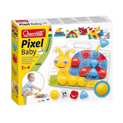 Image of Quercetti Pixel Mosaic Inserts Baby Snail