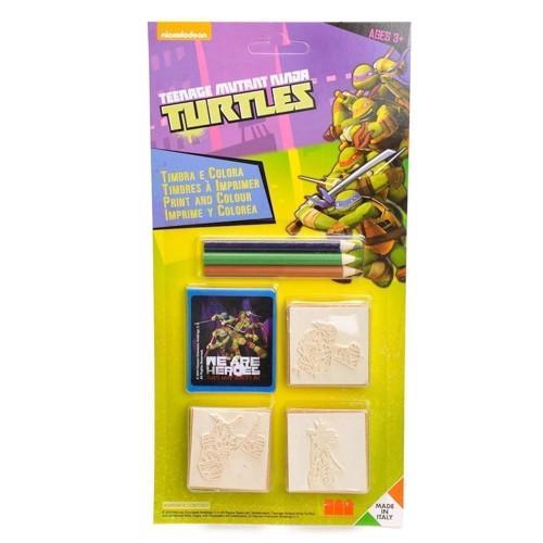 Image of Print and color Ninja Turtles, 7dlg.