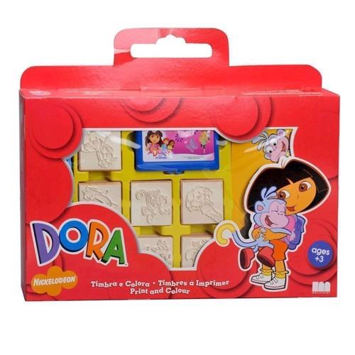 Image of   Dora, stempelæske, 12dlg.
