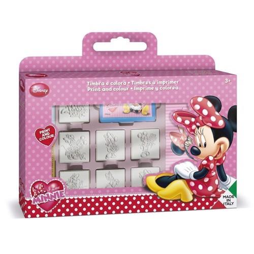 Image of Stempelsæt, Minnie Mouse, 12 dele (8009233078666)
