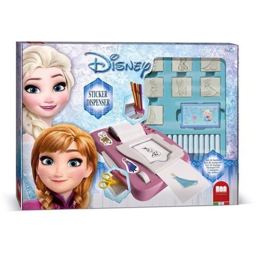 Image of   Stempelsæt, Disney Frozen, 29 dele