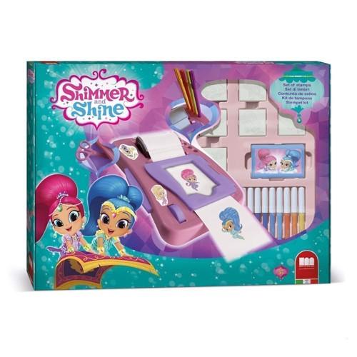 Image of   Shimmer & Shine, stempel og malesjov 29 dele