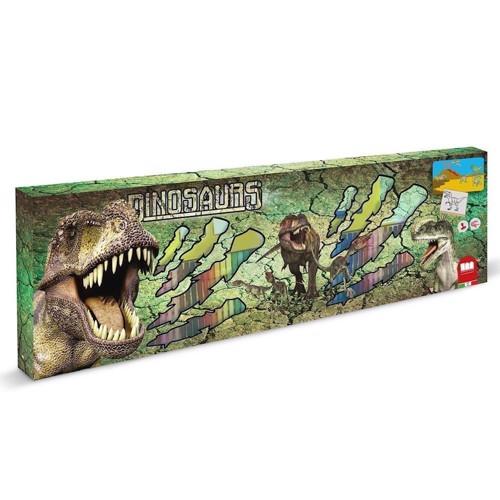 Image of Tegnesæt med dinosaur 115 dele (8009233182202)