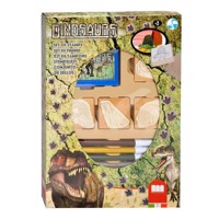 Multiprint Dinos 7packs 4Stempel, 1stamp cushion
