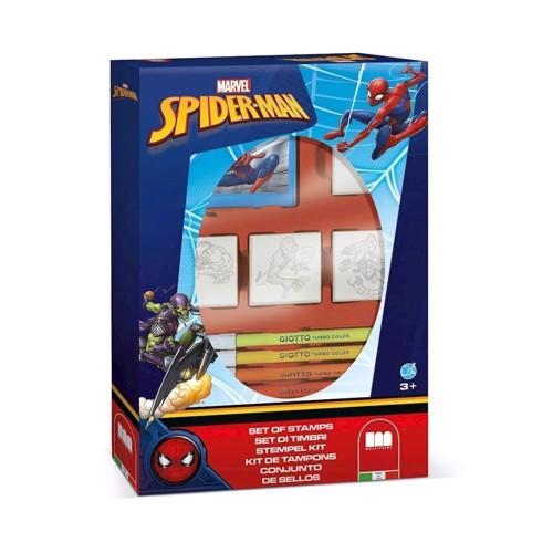 Image of Stempelsæt, Spiderman, 12 dele (8009233278172)