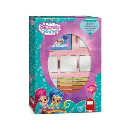 Image of   Stempelsæt, Shimmer & Shine, 12 dele