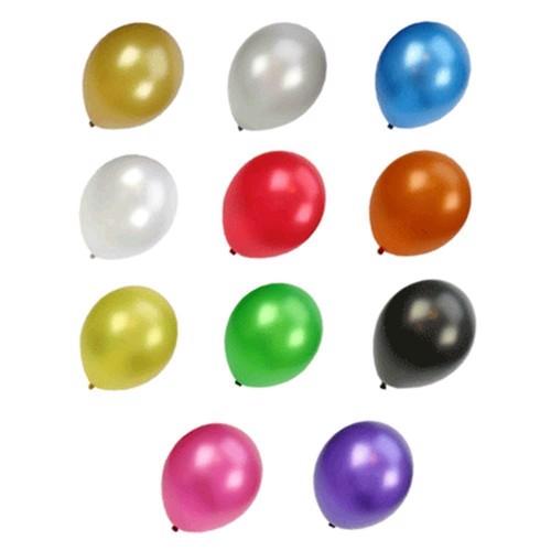Image of Metallic balloner, 100 stk. (8021886118216)
