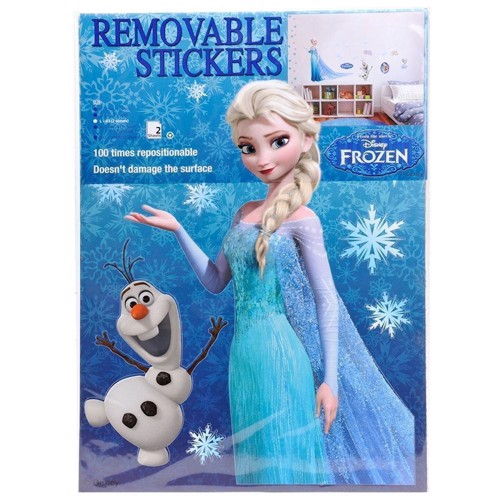 Image of   Disney, Frozen/Frost - Wall stickers, 2 stk.