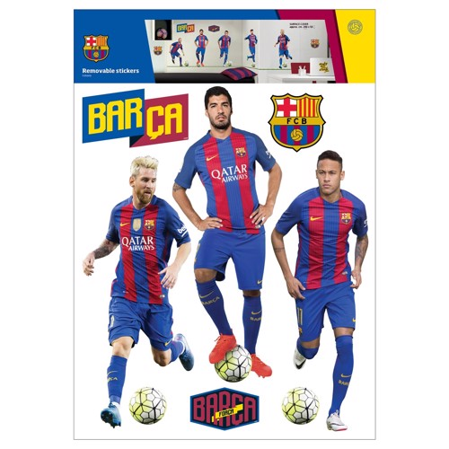 Image of   Wall stickers FC Barcelona TOP 5 Players
