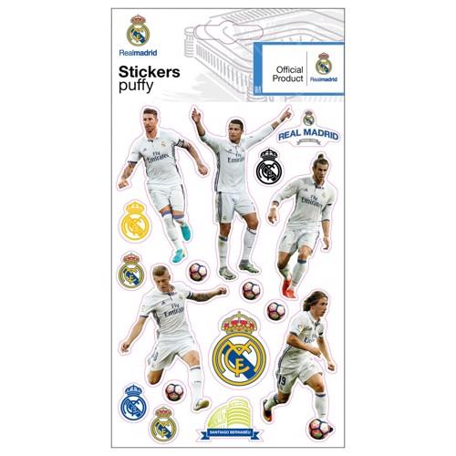Image of   Real Madrid klistermærker med spillere