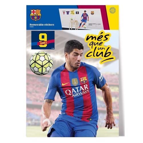 Image of   Wall Sticker FC Barcelona SUAREZ