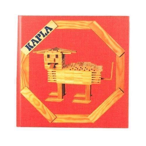 Image of   Kapla Klodser, bog nr. 1 rød: dyr og andre konstruktioner