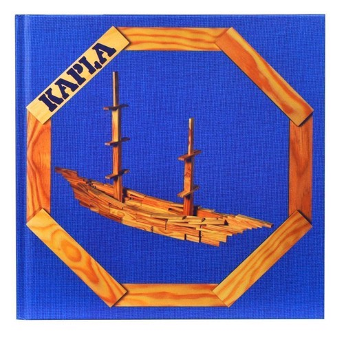Image of   Kapla Klodser, bog nr. 2 blå: For øvede