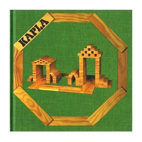 Image of   Kapla Klodser, bog nr. 3 Grøn: simple konstruktioner