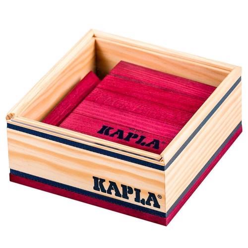 Image of   Kapla Klodser, 40 violette brikker