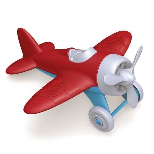 Image of Green Toys Flyvemaskine rød (816409010263)