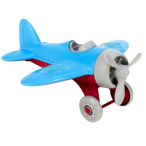 Image of Green Toys Flymaskine Blå