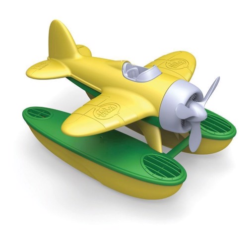 Image of Green Toys Vandflyver gul/grøn (816409010300)