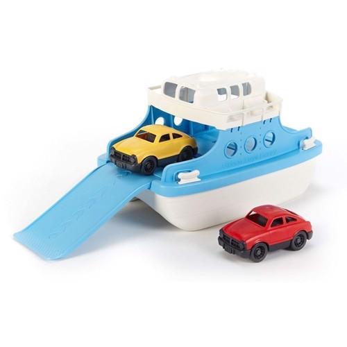 Image of Green Toys færge med biler (816409010386)
