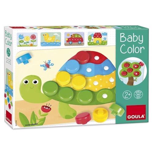 Image of   Goula, farvespil til babyer, skildpadde