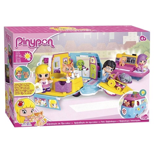 Image of Pinypon dyre ambulance (8410779020253)