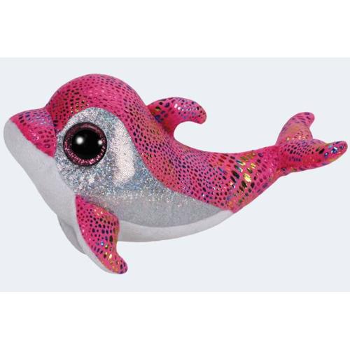 Image of   Ty bamse 24cm delfinen Sparkles
