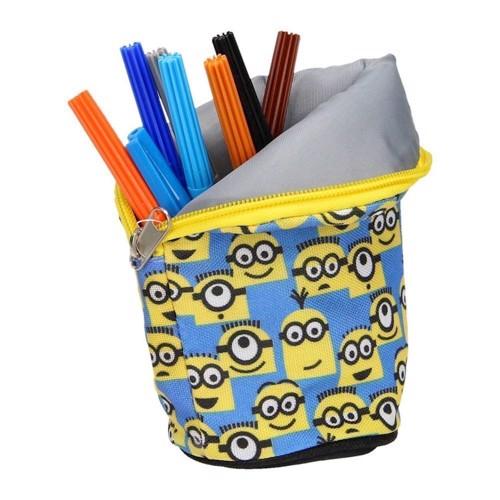 Image of   Minions taske og blyantsholder i en