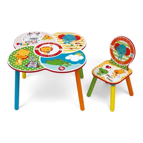 Image of Fisher Price Table And Chair (8430957100003)