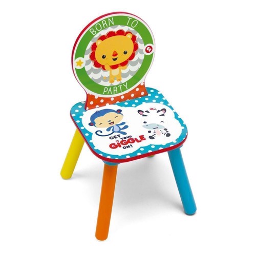 Image of Fisher Price Wooden Chair (8430957100010)