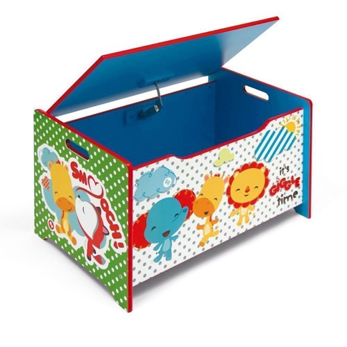 Image of Fisher Price Wooden Toy Box (8430957100027)