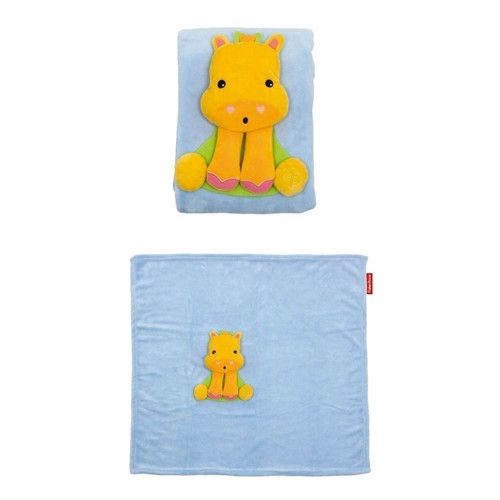 Image of Fisher Price Giraffe Blanket (8430957100409)