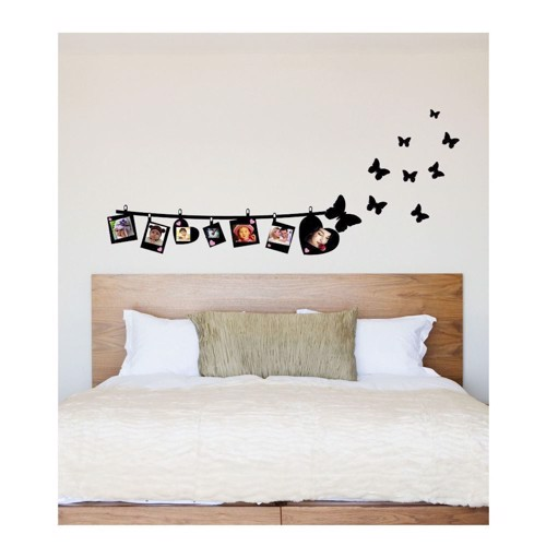 Image of   Wall sticker Photo Garland with Butterflies