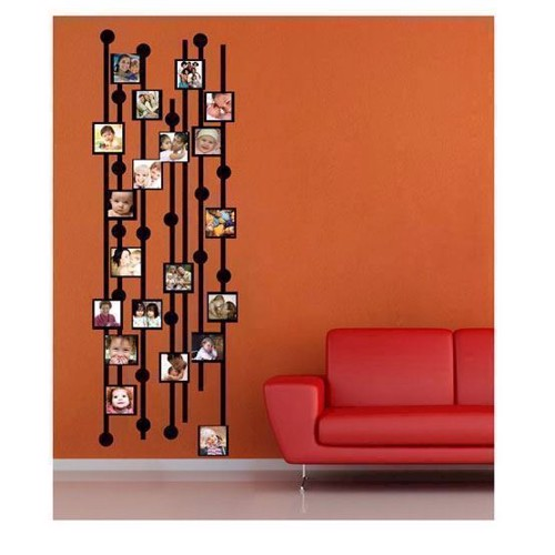 Image of   Wall sticker Photo Garland with Blocks