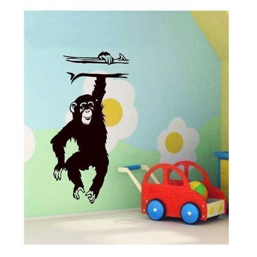 Image of Wall sticker Monkey (8698957082655)
