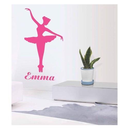 Image of   Wall sticker Ballerina Emma