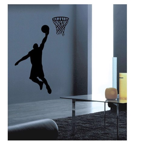Image of   Wall sticker Basketball Player