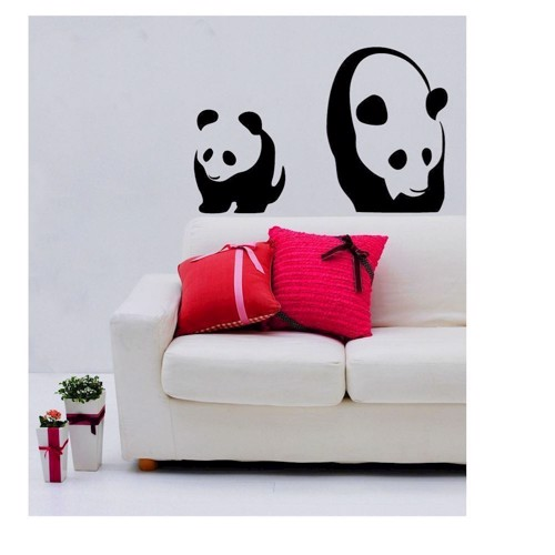 Image of   Wall stickers Pandas