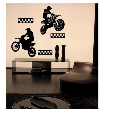 Image of   Wall stickers Motocross Riders