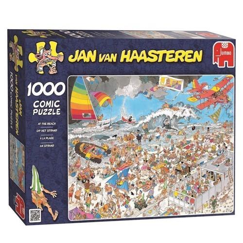 Image of Jan van Haasteren - på stranden 1000 brikker (8710126016527)
