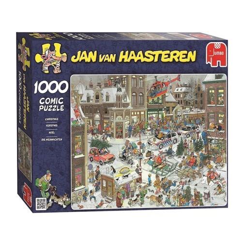 Image of Jan van Haasteren jule puslespil med 1000 brikker (8710126130070)