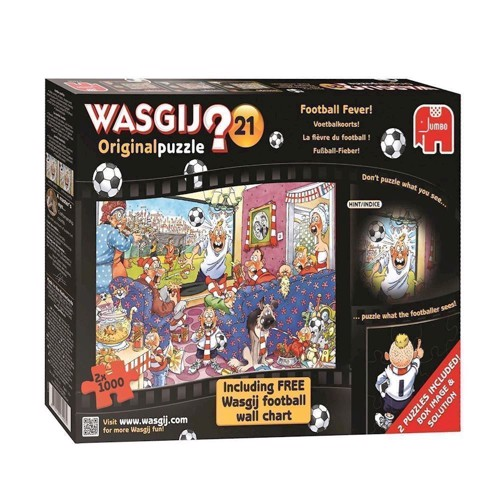 Image of   Wasgij 21-World Cup 2 in 1, 1000pcs.