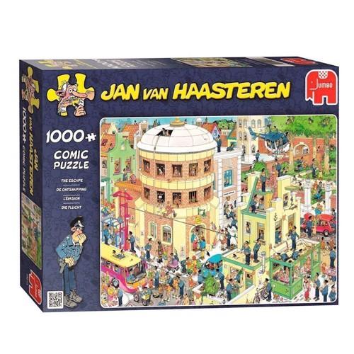 Image of The escape, Jan van Haasteren 1000pcs. (8710126190135)