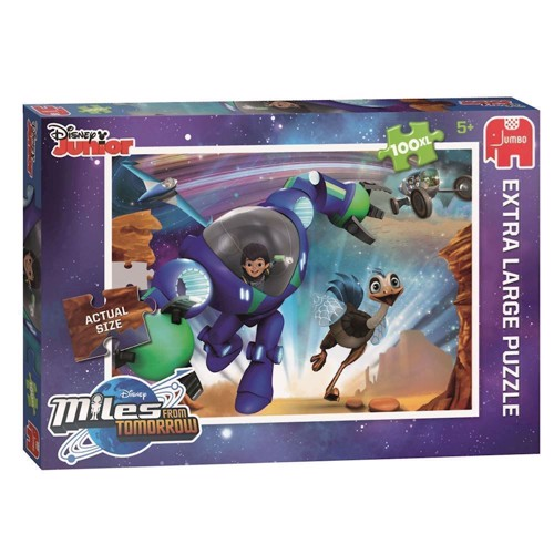 Image of   Disney Miles from Tomorrow puzzle, 100pcs. XXL