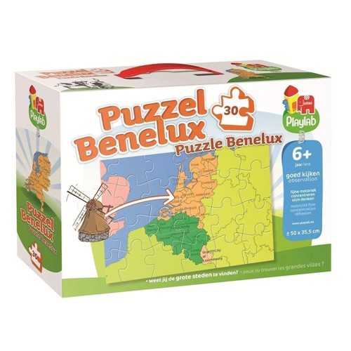 Image of   Playlab Puzzle Benelux