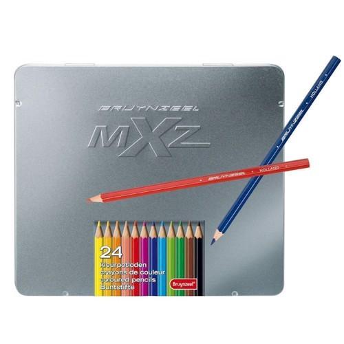 Image of   Mxz Look 24 colour pencils